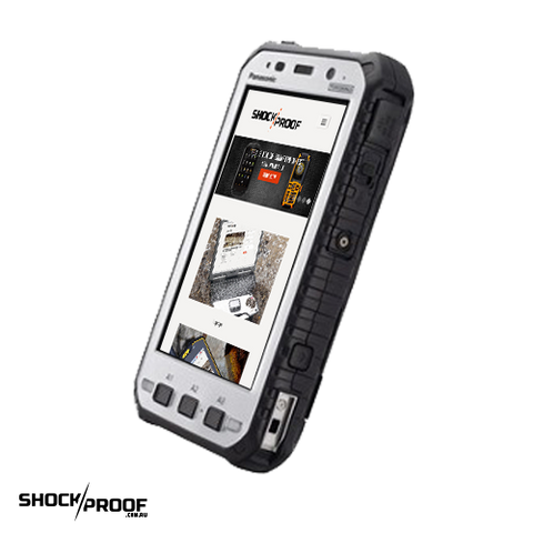 "Panasonic Toughpad FZ-X1 (5"") Mk1 with 4G, Barcode Reader & Handstrap (Bundled with 1TB Rugged USB Drive)"