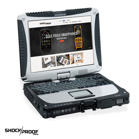 "Panasonic Toughbook CF-19 (10.1"") Mk8 Dual Touch with 4G, GPS & SSD"