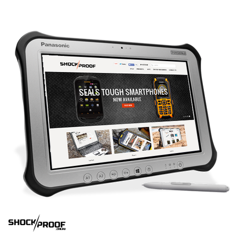 "Panasonic Toughpad FZ-G1 (10.1"") Mk3 with 4G, 12 Point Satellite GPS & Barcode Reader"