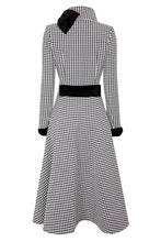 Load image into Gallery viewer, NEW Kristen Coat Dress - Black/Ivory