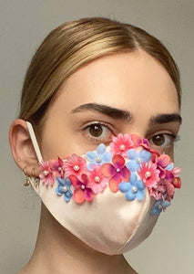 Couture Isabelle Face Covering - Blush floral