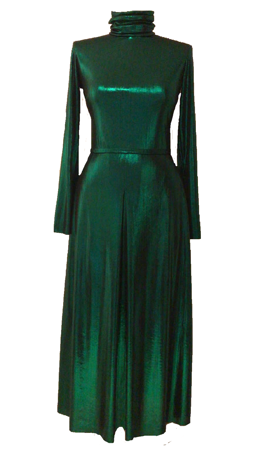 NEW Agnes dress - Metallic green