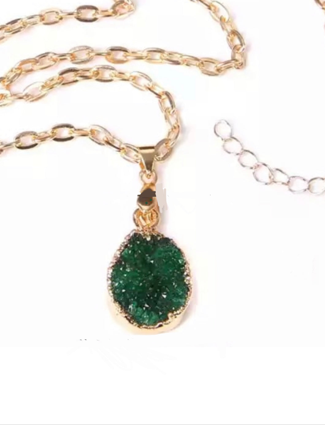 Green Goddess necklace