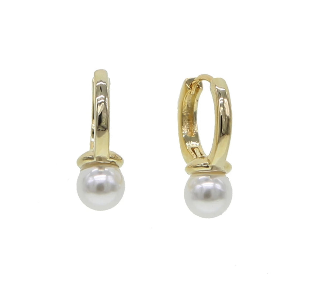 Pearl earrings - Ivory