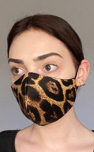 NEW Olivia Face Covering - Leopard