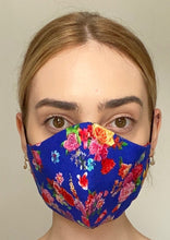 Load image into Gallery viewer, NEW Olivia Face Covering - Blue floral