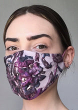 Load image into Gallery viewer, Olivia Face Covering - Lilac embossed
