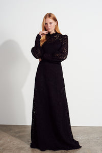 Lila Dress - Black Lace