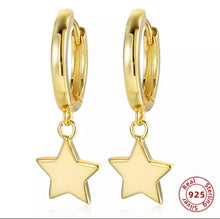 Load image into Gallery viewer, Starlight earrings - Sterling silver