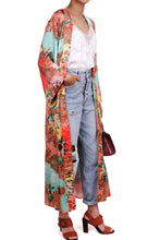 Load image into Gallery viewer, Edie Kimono - Multi Italian - Long