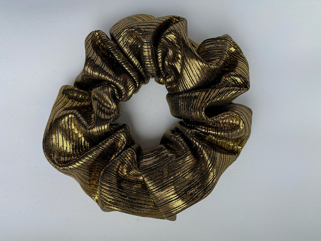 Bella hair scrunchie - Metallic