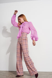 NEW Billie trousers - Pink check