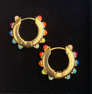 SOLD OUT Rainbow earrings