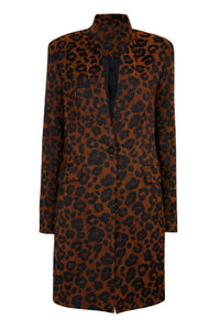 LOW STOCK Gabrielle jacket - Leopard print