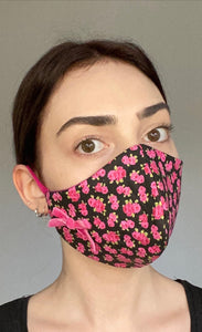 NEW Olivia Face Covering - Pink floral