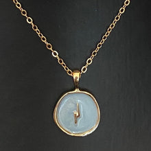Load image into Gallery viewer, SOLD OUT Lightning never strikes twice necklace