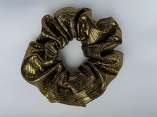 Load image into Gallery viewer, Bella hair scrunchie - Metallic