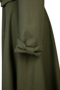 NEW Kristen Coat Dress - Khaki crepe
