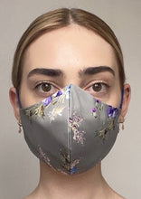 Load image into Gallery viewer, NEW Olivia Face Covering - Grey floral
