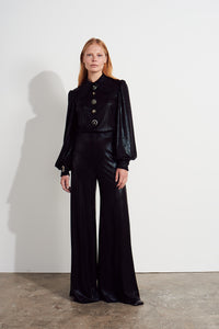 NEW Honor Jumpsuit - Metallic black