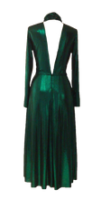 Load image into Gallery viewer, NEW Agnes dress - Metallic green