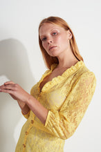 Load image into Gallery viewer, NEW Tallulah Lace Dress - Yellow