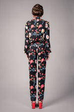 Load image into Gallery viewer, Black floral trousers