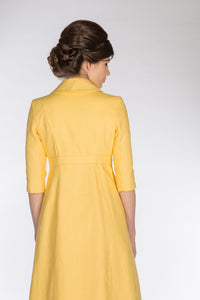 Sunflower A-line Coat