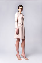 Load image into Gallery viewer, Blush Bow Coat