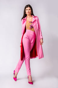Candy pink coat
