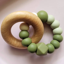 Load image into Gallery viewer, Chunky Beech Ring Teether