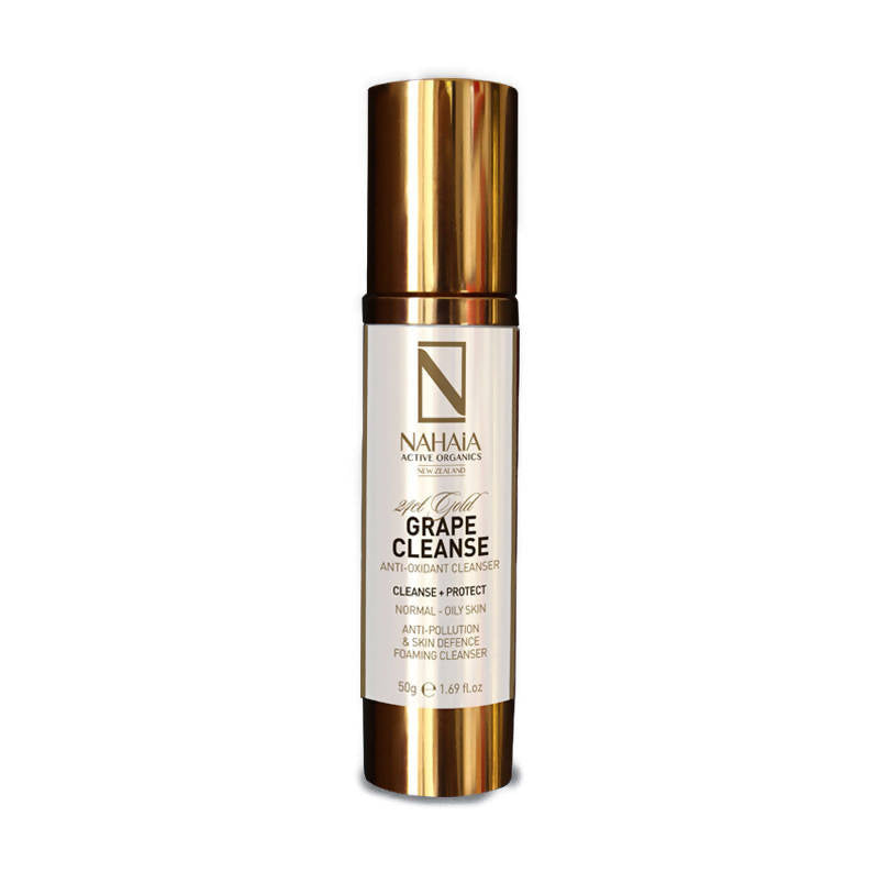 24kt Grape-Cleanse & Foaming Cleanser