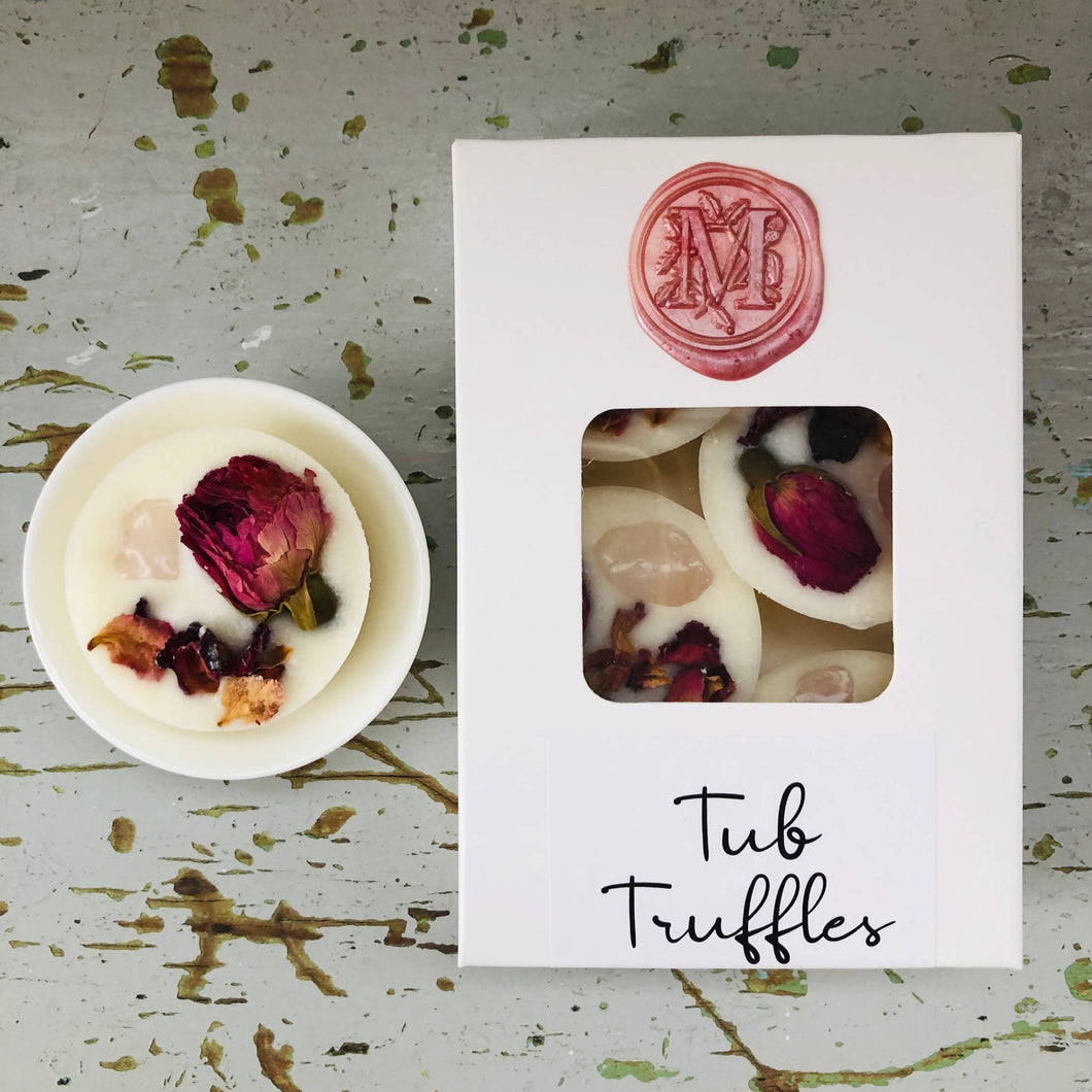 Tub Truffle - Rose Quartz