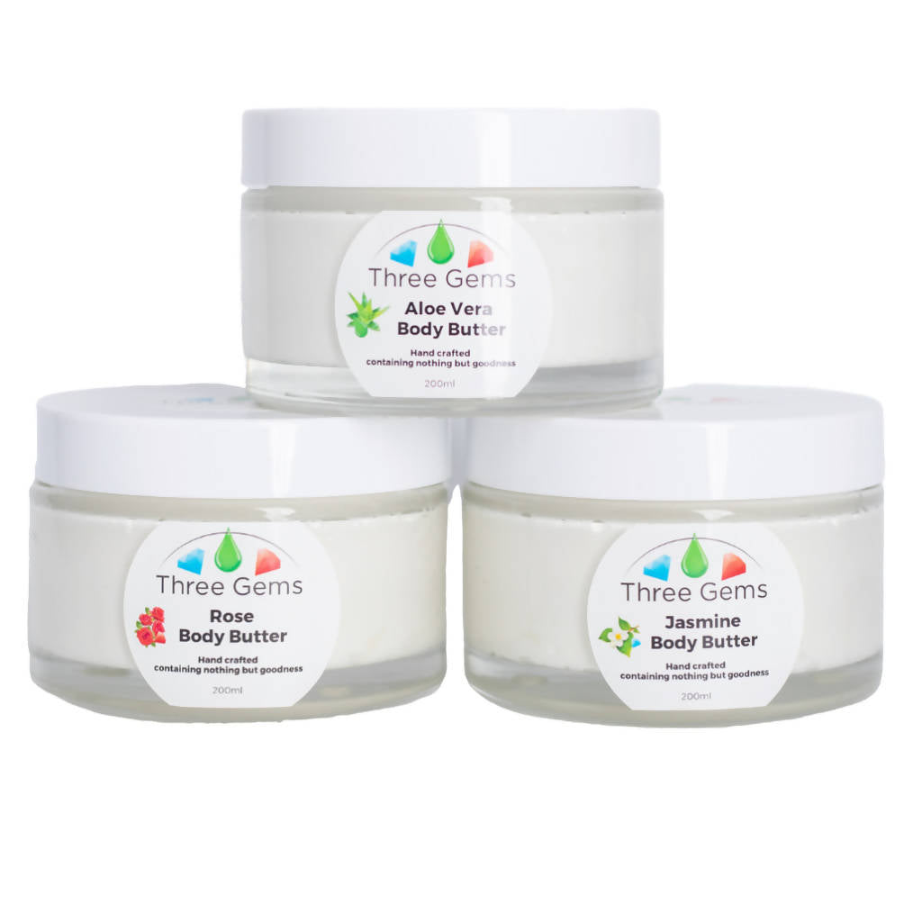 Three Gems Body Butter - 200ml