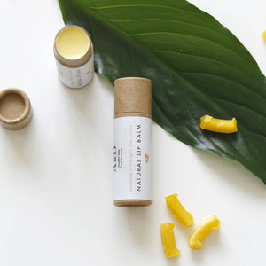 A&D | 8g Natural & Organic Lip Balm in a Cardboard Tube - MADE IN NZ