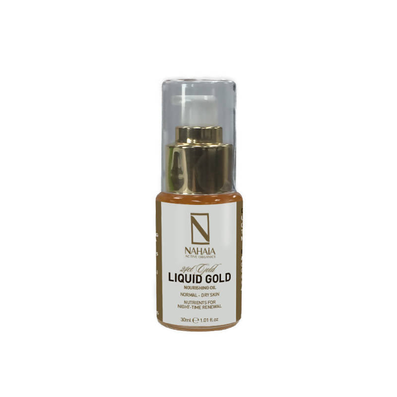 24kt Gold Liquid Gold Nourishing Oil