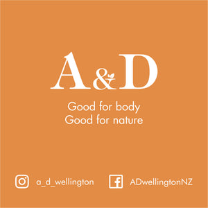 A&D | Natural & Organic Fragrance Candle - MADE IN NZ