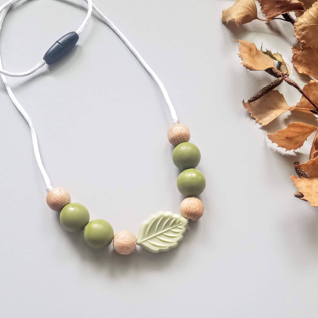 Leafy Sensory Necklace