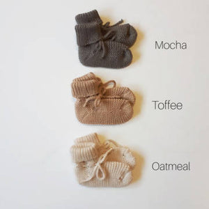 Merino Knit Booties