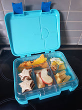 Load image into Gallery viewer, Bento lunch box large convertible blue