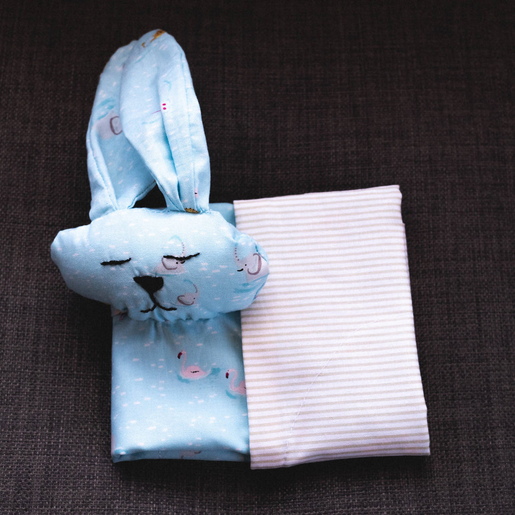 Bunny - Animals in water with neutral stripe