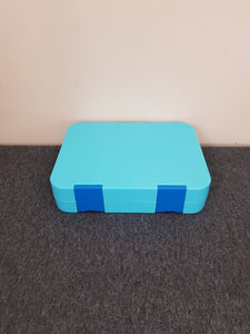 Bento lunch box large convertible blue