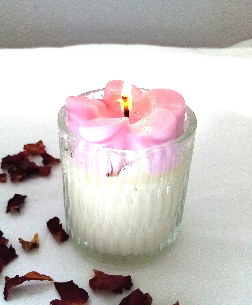 EnlightenMe Candles NZ - Frangipani Scented Soy Candle Jar