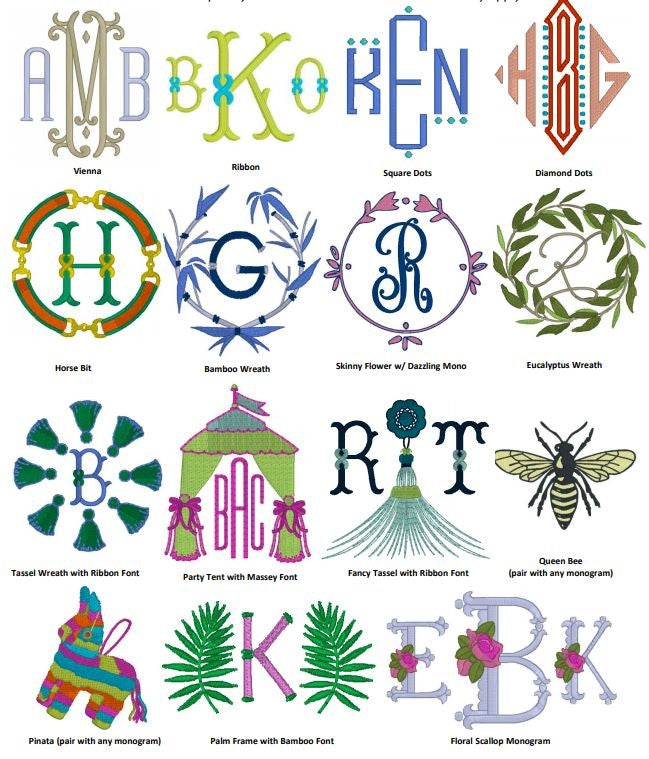 monogram style guide