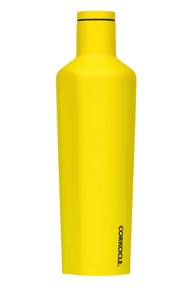Corkcicle Neon Lights Canteen 25oz - Neon Yellow