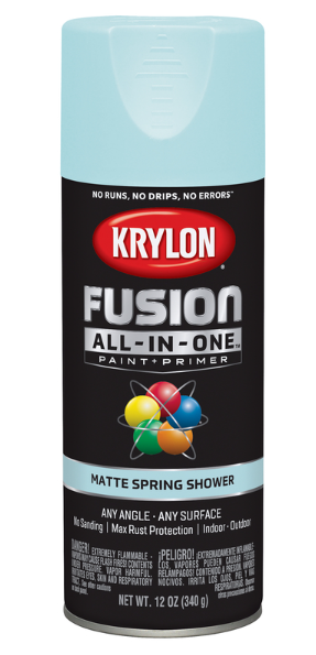 Krylon Fusion All-In-One 12oz. Matte Spring Shower Paint