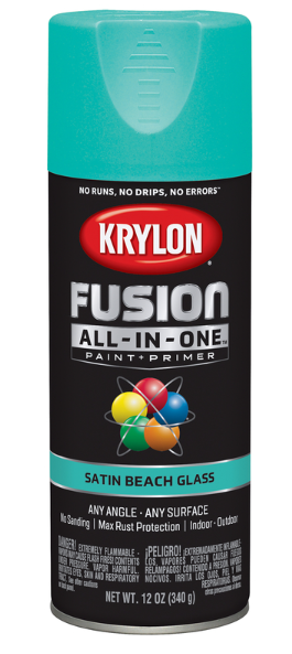 Krylon Fusion All-In-One Satin Beach Glass Paint