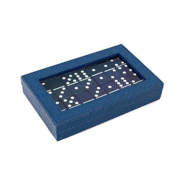 Domino Set - Onyx Blue