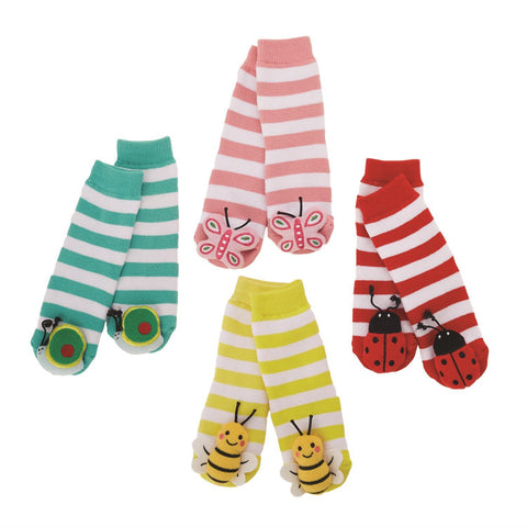 Bugs Life Insect Footsie Rattle Socks