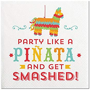 Beverage Napkin - Party Like A Pinata